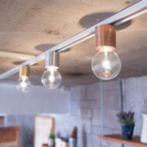 シーリングライト バルブライトキャップ 電球ソケット 天井照明器具 1灯 おしゃれ レール スポットライト|kanaemina