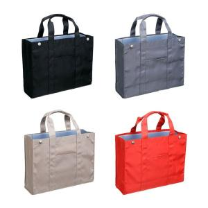 トートバッグ ノータム・オフィス A4サイズ 横向き ファイルボックスがそのまま入るバッグ|kanaemina