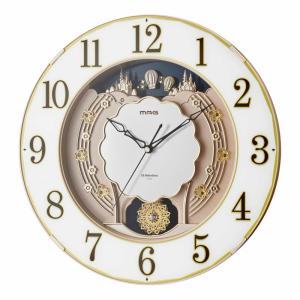 壁掛け時計 電波時計 ウォールクロック おしゃれ 報時時計 アナログ インテリア時計 大型 大きい 幅40cm|kanaemina