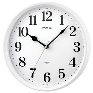 壁掛け時計 掛時計 ウォールクロック アナログ シンプル 連続秒針 直径28cm|kanaemina