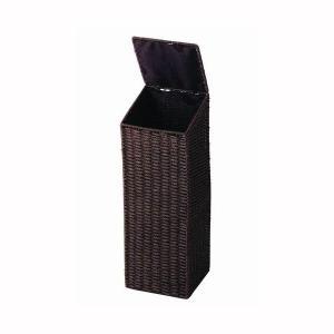トイレットペーパー ストッカー 収納ラック ケース ボックス 収納 ダークブラウン|kanaemina