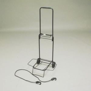 キャリーカート 折りたたみ式 小 固定ロープ付|kanaemina