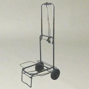 キャリーカート 折りたたみ 軽量 固定ロープ付|kanaemina