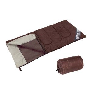 寝袋 シュラフ シェラフ 封筒型 収納バッグ付 キャプテンスタッグ|kanaemina