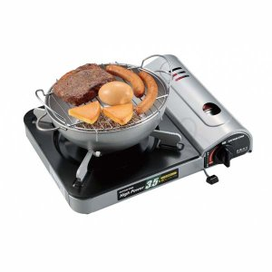 燻製鍋 燻製器 家庭用 アウトドア ガスコンロで簡単 お手軽ミニスモーカー|kanaemina
