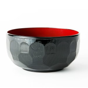 汁椀 お茶碗 洗浄多用椀 味噌汁椀 おしゃれ 亀甲 直径14.5cm 食器洗浄機対応 日本製|kanaemina