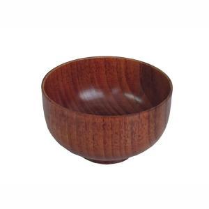 汁椀 お茶碗 お椀 吸物椀 味噌汁椀 天然木 木製 漆塗装 直径10.8cm|kanaemina