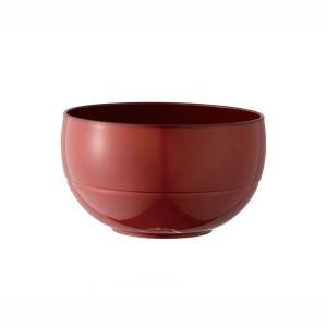 お椀 汁椀 茶碗 WAYOWAN 丸型 中 朱 食洗器対応 電子レンジ対応 和食器 日本製|kanaemina