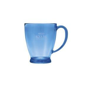 耐熱マグカップ コップ スープカップ 樹脂製 アクア パルカップ ブルー 熱湯対応|kanaemina