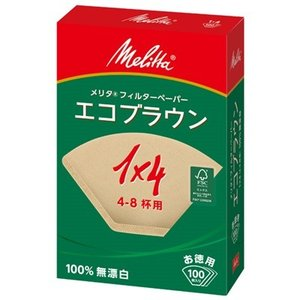 コーヒーフィルター ペーパー 無漂白 4〜8杯用 100枚×3セット