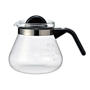 コーヒーポット コーヒーサーバー ガラス製 メリタ グラスポット カフェリーナ800|kanaemina
