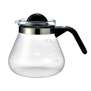 コーヒーポット コーヒーサーバー ガラス製 メリタ グラスポット カフェリーナ1000|kanaemina