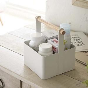 薬箱 薬収納ケース サプリメント ツールボックス おしゃれ Sサイズ トスカ ホワイト|kanaemina