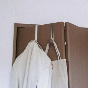 ドア用フック ドアハンガー フック ライト ペア 吊り下げ収納 バッグ 帽子 小物掛け|kanaemina
