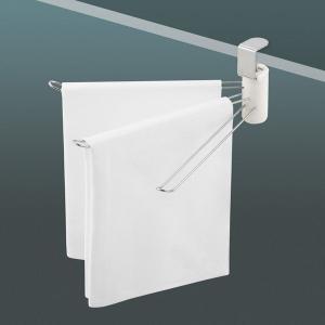 ■商品説明 吊戸棚の底板に挟むだけ!キズをつけない簡単取り付け。 吊り戸棚の底板にはさんで締めるだけ...