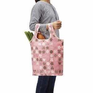 お買い物バッグ 買い物バック 折り畳み 買い物袋 エコバッグ 手提げ トートバッグ スイート|kanaemina
