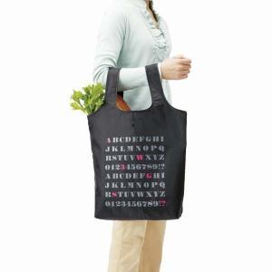 お買い物バッグ 買い物バック 折り畳み 買い物袋 エコバッグ 手提げ トートバッグ アルファベット|kanaemina