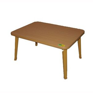 折りたたみテーブル コンパクト 折れ脚 座卓 作業台 幅60cm ナチュラル|kanaemina