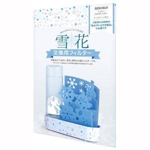 ペーパー加湿器 エコ加湿器 交換用フィルター 自然気化式 うるおい 雪花 日本製