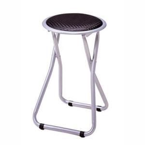 ミーティングチェア 会議椅子 パイプイス 折りたたみ ブラック|kanaemina