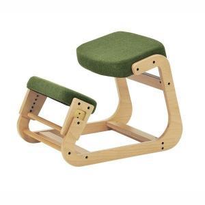 スレッドチェア 学習椅子 背筋が伸びる 姿勢矯正イス キッズチェアー 子供用 大人用 グリーン kanaemina