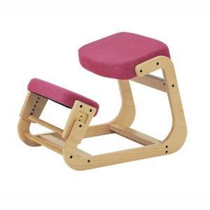 スレッドチェア 学習椅子 背筋が伸びる 姿勢矯正イス キッズチェアー 子供用 大人用 ピンク kanaemina