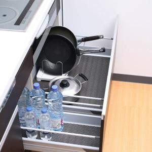 システムキッチン用 汚れを防ぐ引き出し用シート 消臭 抗菌 下敷き 保護シート 幅45×180cm 日本製 kanaemina