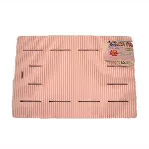 浴室内マット バスマット 防カビ お風呂マット ピンク 脚付 厚型|kanaemina