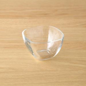 深鉢 小鉢 ガラスボウル 食器 プレーンスクエア 6個セット|kanaemina