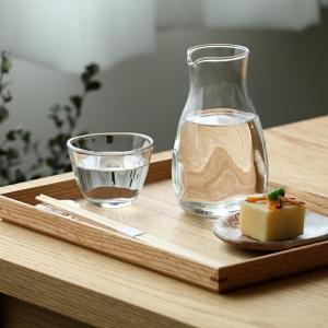 冷酒カラフェ ピッチャー 徳利 単品 冷酒器 3個セット てびねり ガラス製 290ml 日本製 kanaemina