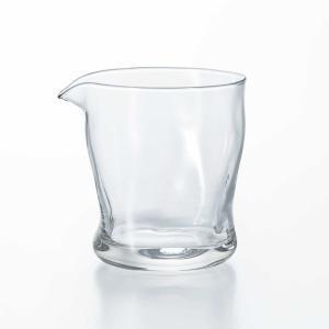 グラス 片口カラフェ ピッチャー 冷酒 日本酒 ガラス製 てびねりフルード 280ml 3個セット 日本製 kanaemina