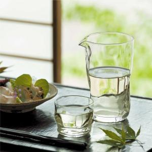 グラス 片口カラフェ ピッチャー 冷酒 日本酒 ガラス製 てびねりフルード 460ml 3個セット 日本製 kanaemina