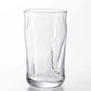 グラス コップ ガラス製 てびねりフルード タンブラー10 300ml 3個セット 日本製|kanaemina