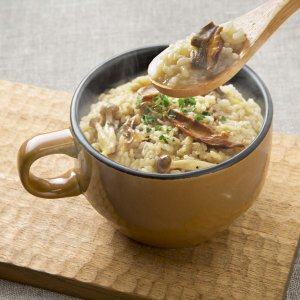 耐熱マグカップ スープカップ 耐熱陶器製 電子レンジ オーブントースター ガスオーブン対応 ブラウン kanaemina