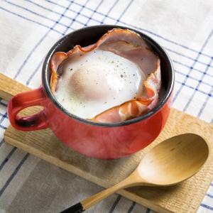 耐熱マグカップ スープカップ 耐熱陶器製 電子レンジ オーブントースター ガスオーブン対応 レッド kanaemina