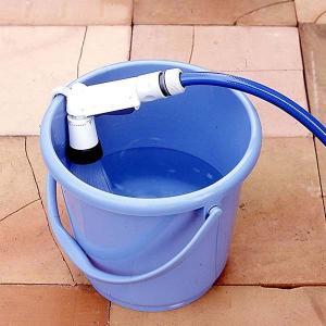 散水ノズル ブルー 4パターン ホースヘッド シャワー ガーデニング 家庭菜園 園芸 水撒き 水やり|kanaemina