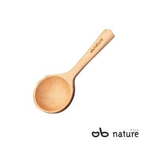 コーヒーメジャースプーン 約5g 計量 量り用 木製 ビーチ材 天然木 木製カトラリー 食器 Obnature kanaemina