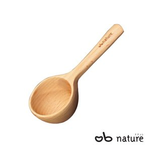 コーヒーメジャースプーン 約10g 計量 量り用 木製 ビーチ材 天然木 木製カトラリー 食器 Obnature kanaemina