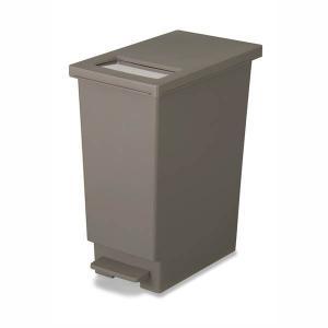 ゴミ箱 ゴミストッカー ダストボックス キッチン おしゃれ 分別ペール 角型 蓋付き 45L kanaemina