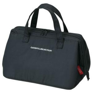 ランチバッグ お弁当袋 保冷バック 保冷剤入れメッシュポケット付き がま口 Lサイズ|kanaemina