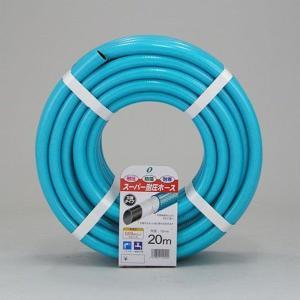 散水ホース スーパー耐圧ホース 20m 中黒 ブルー 食品衛生法適合商品 日本製|kanaemina