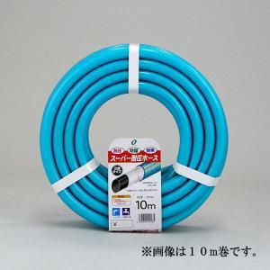 散水ホース スーパー耐圧ホース 5m 中黒 ブルー 食品衛生法適合商品 日本製|kanaemina