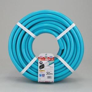 散水ホース スーパー耐圧ホース 30m 中黒 ブルー 食品衛生法適合商品 日本製|kanaemina