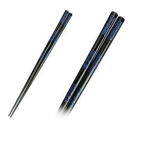 箸 お箸 はし 先角きらら 23cm おはし1膳 天然木 木製 食器洗浄器対応 和食器 日本製|kanaemina