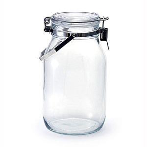 ■商品説明 果実酒や梅酒、梅シロップの手作り用としてもとても便利なガラス製の密閉瓶です。 透明なガラ...