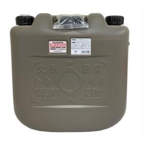 灯油缶 灯油ポリタンク 軽油缶 軽油ポリタンク 両油缶 20L ノズル付き 消防法適合品 日本製|kanaemina