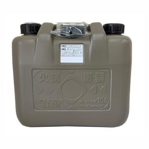 灯油缶 灯油ポリタンク 軽油缶 軽油ポリタンク 両油缶 10L ノズル付き 消防法適合品 日本製|kanaemina