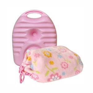 立つ湯たんぽ 湯タンポ ゆたんぽ 小型 ミニ プチタイプ 600ml カバー袋付き|kanaemina