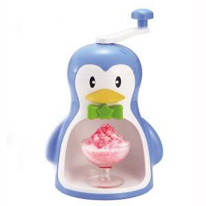 かき氷機 手動 家庭用 ペンギンかき氷器|kanaemina