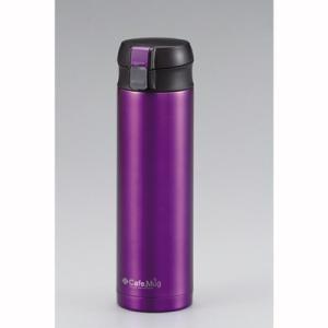 マグボトル 水筒 ステンレス ワンタッチマグ 軽量 450ml カシス|kanaemina